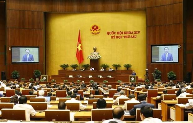 Parlamento vietnamita analizara cumplimiento del plan socioeconomico hinh anh 1