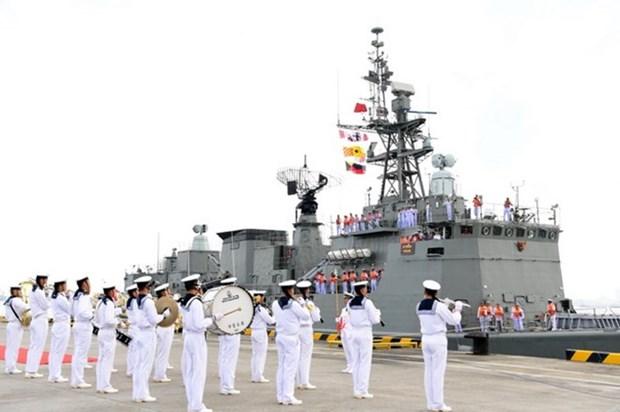 ASEAN y China concluyen ejercicio maritimo hinh anh 1