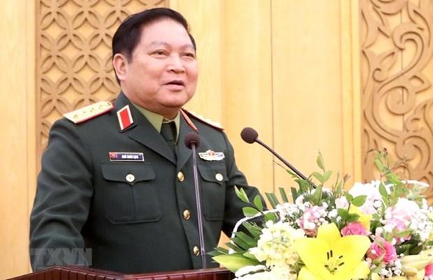 Cooperacion en defensa, pilar de asociacion Vietnam- China hinh anh 1