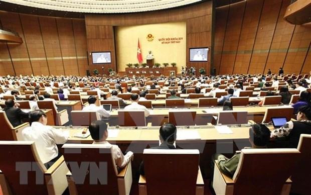 Parlamento de Vietnam revisara situacion de presupuesto estatal hinh anh 1