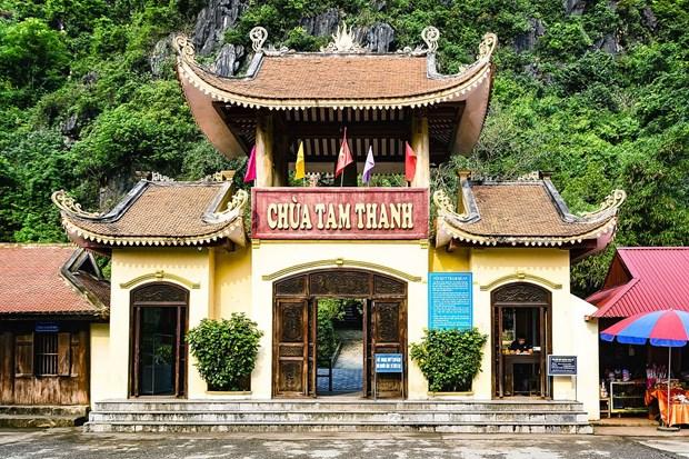 Pagoda Tam Thanh: oasis sagrada en provincia norvietnamita de Lang Son hinh anh 1
