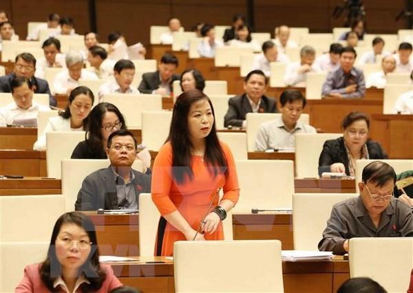 Parlamento vietnamita analiza temas vinculados al presupuesto estatal y finanzas hinh anh 1
