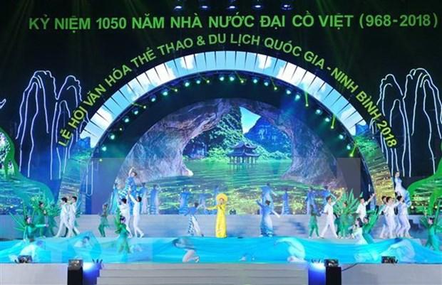 Inauguran Festival Nacional de Cultura, Deportes y Turismo en provincia norvietnamita de Ninh Binh hinh anh 1