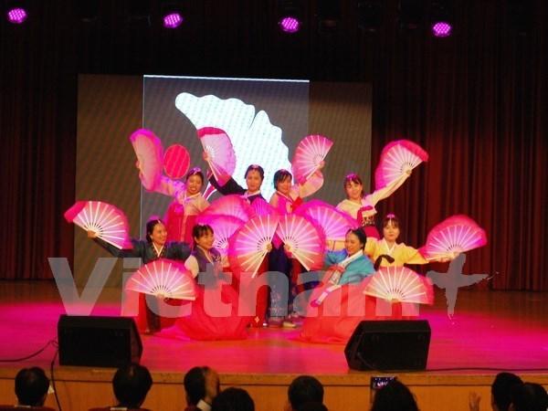 Celebran Dia de los Estudiantes Vietnamitas en Corea del Sur hinh anh 1