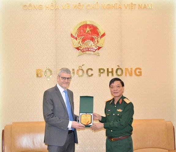 Promueven cooperacion en defensa Vietnam y Nueva Zelanda hinh anh 1