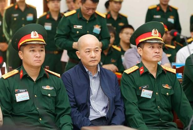 Abren juicio de apelacion contra exdirectivo de empresa del Ministerio de Defensa de Vietnam hinh anh 1