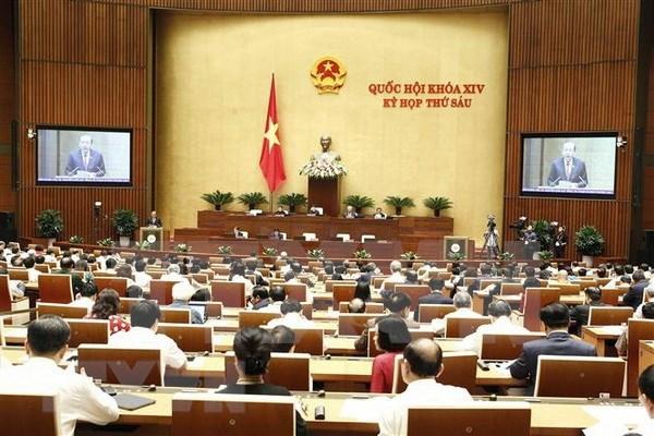 Inician sesiones de interpelaciones del Parlamento vietnamita hinh anh 1