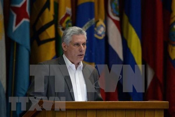 Presidente de Cuba realizara visita oficial a Vietnam en noviembre hinh anh 1
