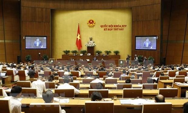 Electores vietnamitas aprecian resultados del cumplimiento del plan financiero nacional hinh anh 1
