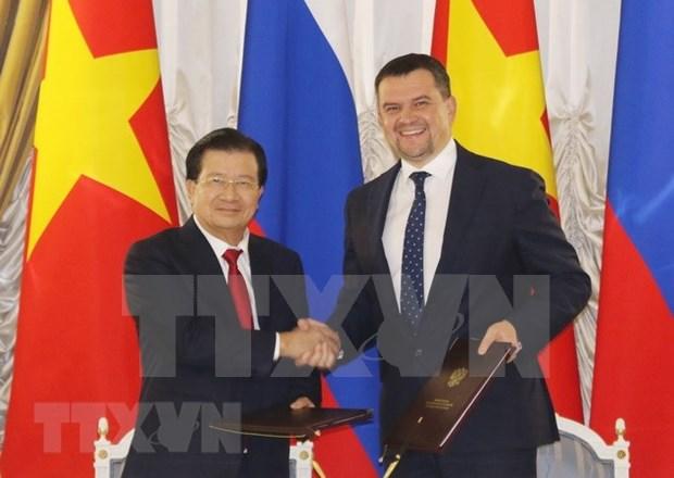 Vietnam y Rusia coinciden en impulsar los nexos multifaceticos binacionales hinh anh 1