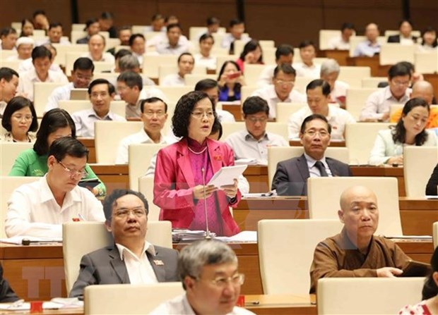 Electores vietnamitas proponen priorizar recursos para el desarrollo hinh anh 1