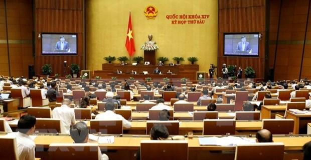 Sesiones de interpelaciones del Parlamento de Vietnam se prolongaran tres jornadas hinh anh 1