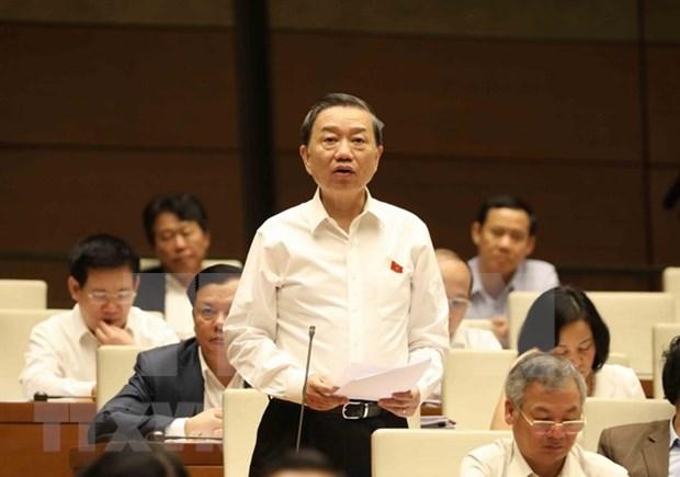 Parlamento de Vietnam concluye primera sesion de interpelaciones hinh anh 1