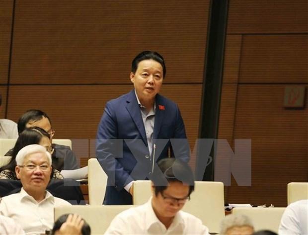 Ministro vietnamita propone soluciones para limpiar rios contaminados hinh anh 1