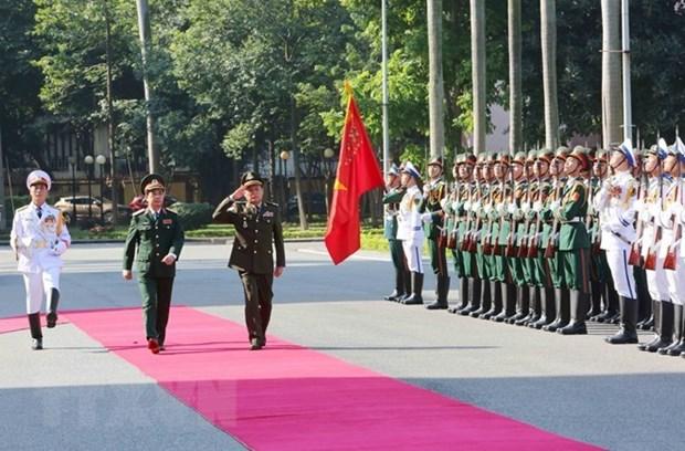 Delegacion del Ejercito Real de Camboya visita Vietnam hinh anh 1