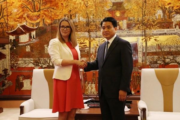 Hanoi y Gales fortalecen cooperacion en educacion hinh anh 1