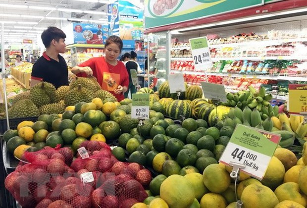 Leve aumento de IPC de Ciudad Ho Chi Minh en octubre hinh anh 1
