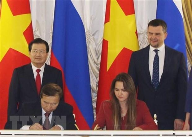 Vicepremier de Vietnam se reune con representantes de corporaciones rusas hinh anh 1