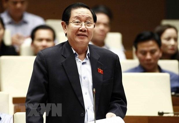 Ministro vietnamita del Interior comparece ante diputados hinh anh 1