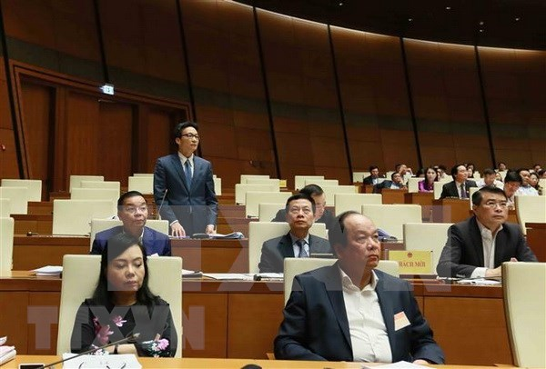 Miembros del Gabinete aclaran numerosas cuestiones de gran interes publico hinh anh 1