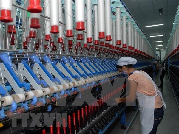 Inauguran fabrica textil en provincia norvietnamita de Nam Dinh hinh anh 1