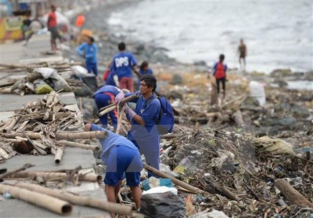 Al menos cinco muertos en Filipinas tras el paso del tifon Yutu hinh anh 1