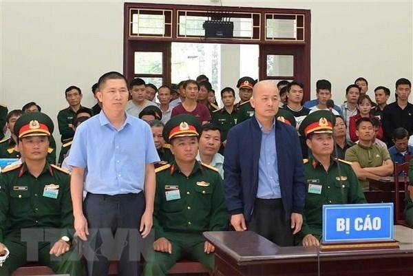 Mantienen sentencia de 12 anos de prision a exdirectivo de empresa del Ministerio de Defensa de Vietnam hinh anh 1