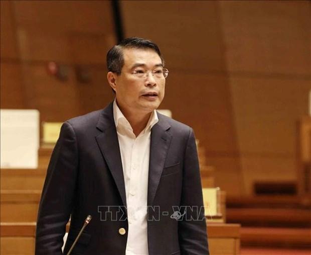 Gobernador general del Banco Estatal de Vietnam aborda tema de deuda mala ante el Parlamento hinh anh 1
