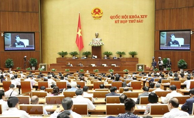 Concluye sesion de interpelacion del Parlamento de Vietnam hinh anh 1