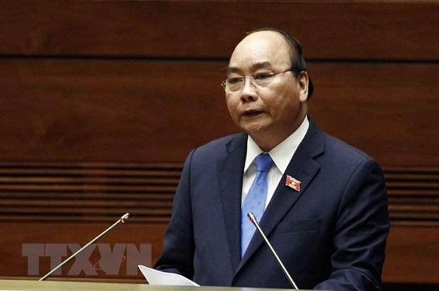 Premier de Vietnam rinde cuentas para clarificar asuntos sometidos a la gestion del Ejecutivo hinh anh 1