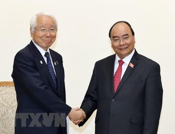 Gobierno de Vietnam promete cooperar con localidades de Japon hinh anh 1