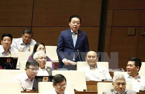 Parlamento de Vietnam interpela a ministros sobre asuntos de interes nacional hinh anh 2