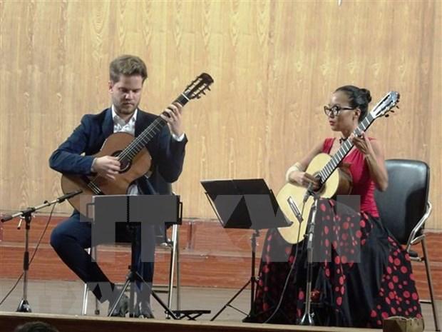Festival Internacional de Guitar Sai Gon deleita al publico de Ciudad Ho Chi Minh hinh anh 1