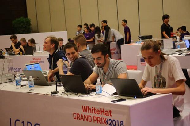 Equipo ruso gana primer premio del concurso internacional de seguridad cibernetica en Vietnam hinh anh 1