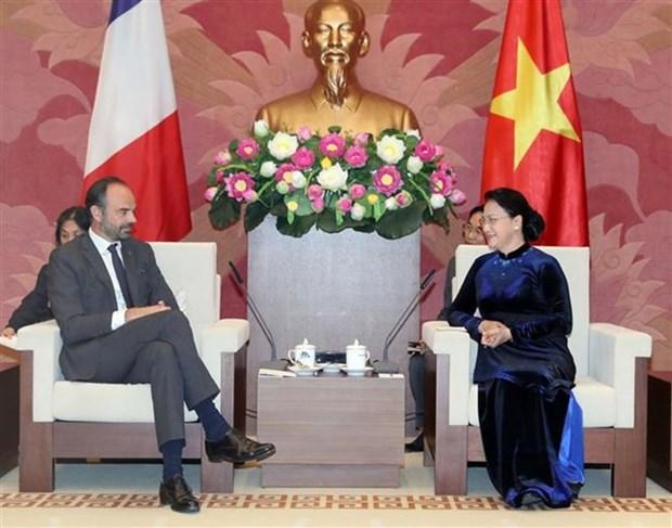 Vietnam atesora las relaciones con Francia, afirma maxima legisladora hinh anh 1
