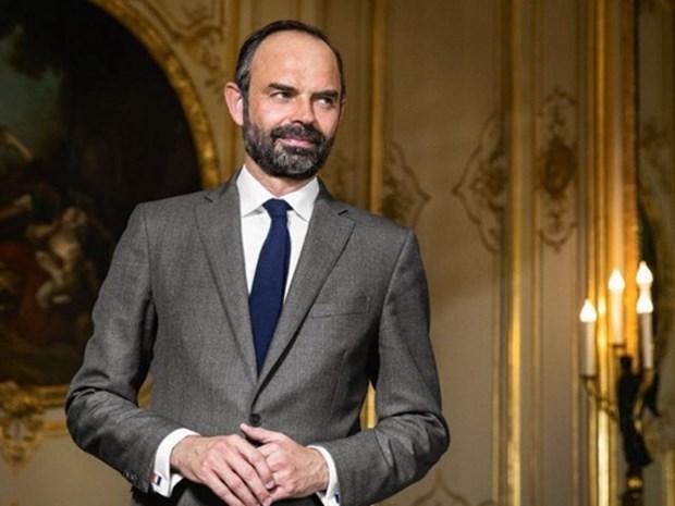 Primer ministro de Francia inicia visita a Vietnam hinh anh 1