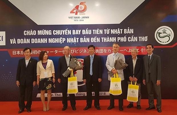 Empresarios japoneses buscan oportunidades de negocios en provincia survietnamita hinh anh 1