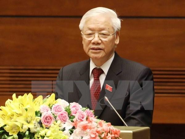 Presidente de Vietnam propondra al Parlamento aprobacion del CPTPP hinh anh 1