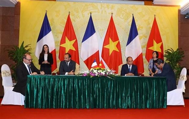 Vietnam y Francia resaltan determinacion para promover vinculos hinh anh 1