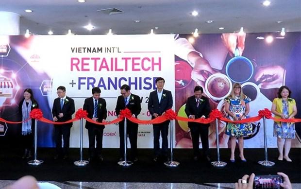 Efectuan en Ciudad Ho Chi Minh exposiciones internacionales de franquicia y de cafe hinh anh 1
