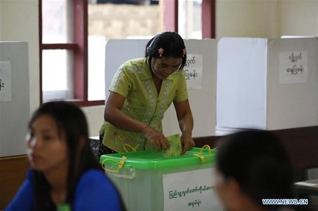 Myanmar celebra elecciones parlamentarias hinh anh 1