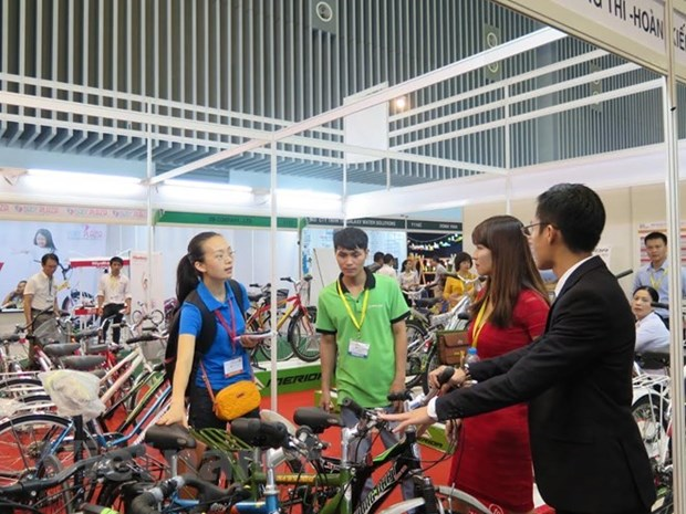 Inauguran Feria comercial Vietnam-China 2018 hinh anh 1