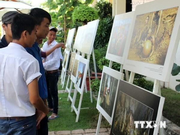 Exhiben en Hanoi obras fotograficas sobre patrimonios vietnamitas hinh anh 1