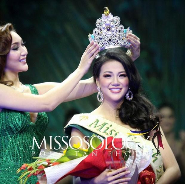 Vietnam gana su primera corona en Miss Tierra 2018 hinh anh 1