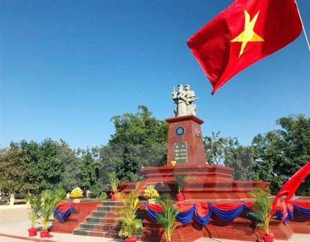 Camboya inaugura monumento de amistad con Vietnam hinh anh 1