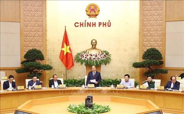 Premier destaca la estabilidad de macroeconomia de Vietnam en 10 meses hinh anh 1