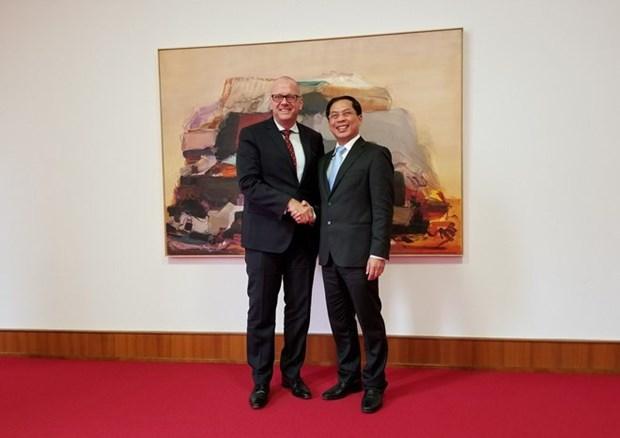 Vietnam y Alemania buscan fomentar relaciones hinh anh 1
