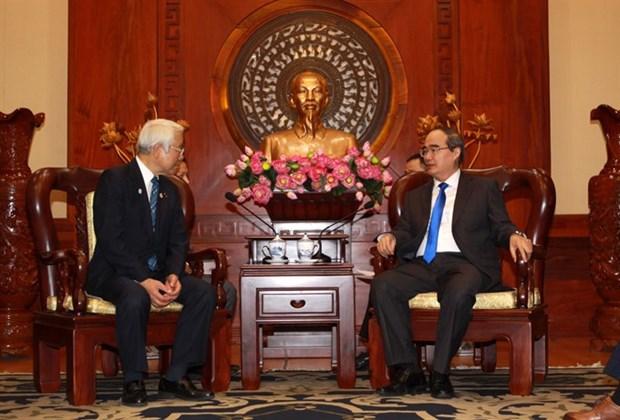 Ciudad Ho Chi Minh y prefectura japonesa de Hyogo promueven colaboracion hinh anh 1