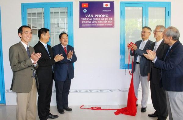 Universidad vietnamita se asocia con empresas japonesas en investigacion cientifica hinh anh 1