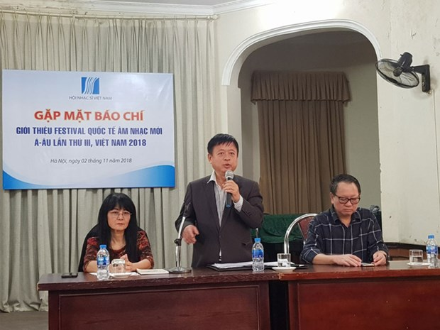 Se celebrara festival musical eurasiatica 2018 a fines de noviembre hinh anh 1